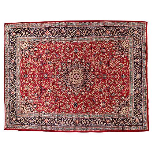 """Mashad Carpet, 9'10"""" x 12'8"""""""