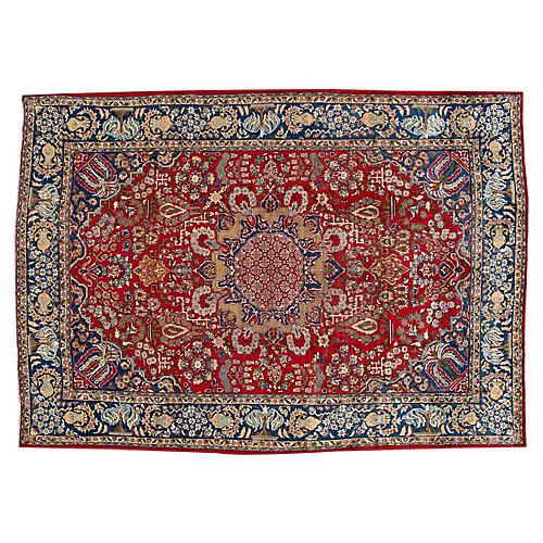 """Tabriz Carpet, 9'1"""" x 13'"""