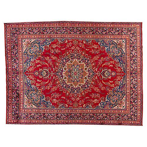 """Mashad Carpet, 9'5"""" x 12'6"""""""