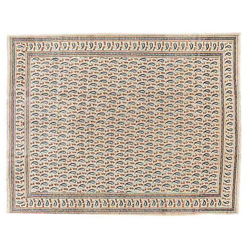 """Persian Kerman Carpet, 9'2"""" x 11'9"""""""