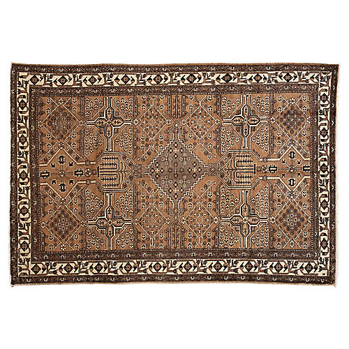 "Persian Shiraz Rug, 6'6"" x 9'9"""