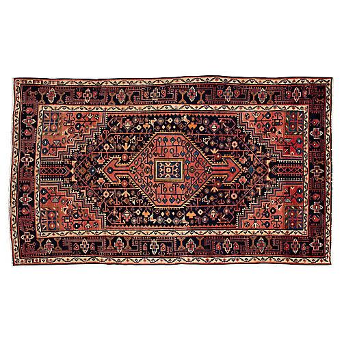 """Persian Rug, 4'3"""" x 7'2"""""""