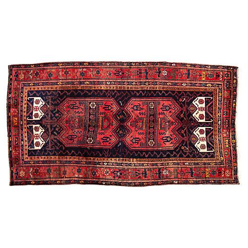 """Persian Rug, 5'2"""" x 10'1"""""""