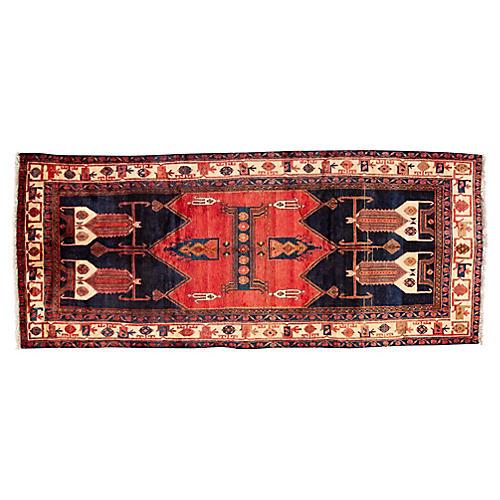"Persian Hamadan Rug, 4'10"" x 11'5"""
