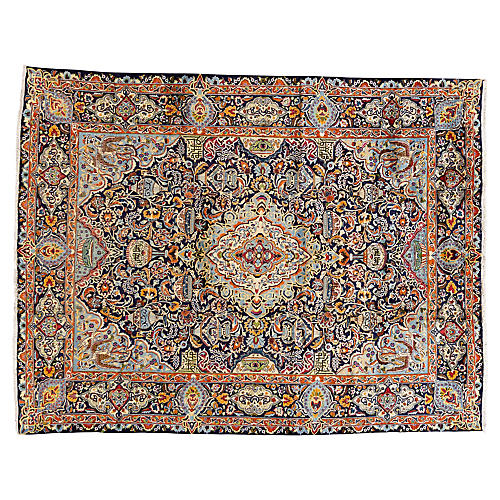 "Persian Carpet, 9'10"" x 12'9"""