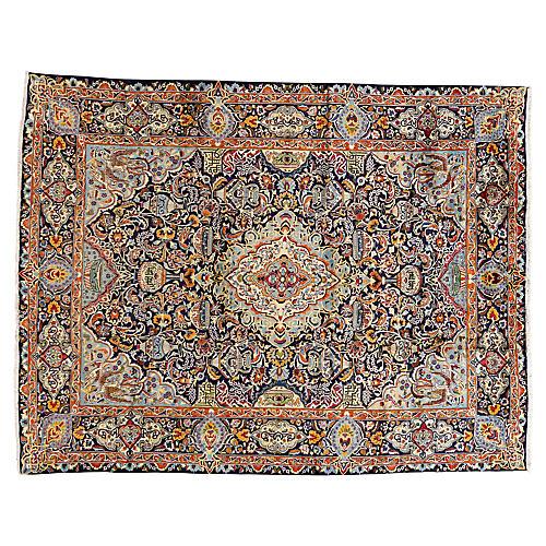 "Persian Carpet, 9'10"" x 12'9"""