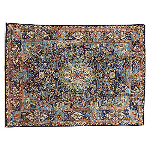 "Persian Carpet, 9'7"" x 13'3"""