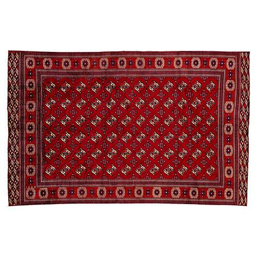 """Persian Turkmen Rug, 7'5"""" x 11'9"""""""