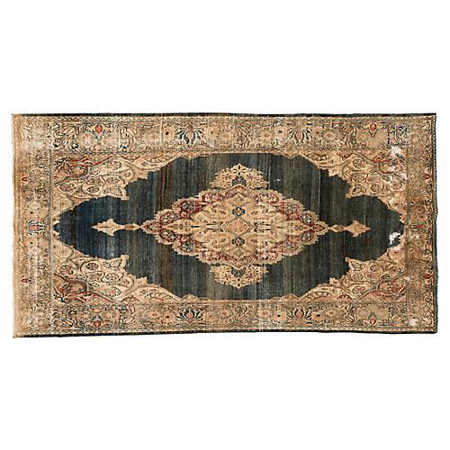 """Persian Rug, 4'2"""" x 8'"""