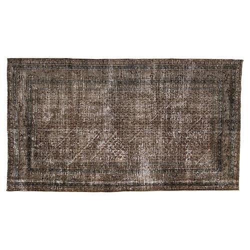 "Vintage Persian Rug, 5' x 8'10"""