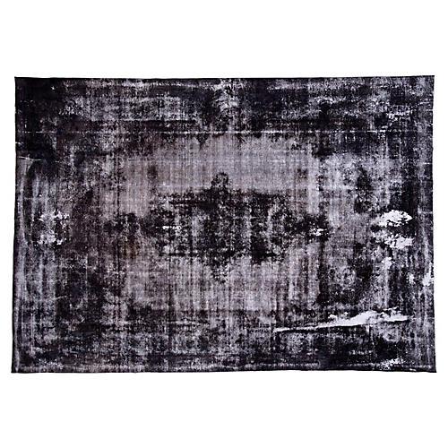 "Overdyed Persian Carpet, 9'6"" x 13'8"""