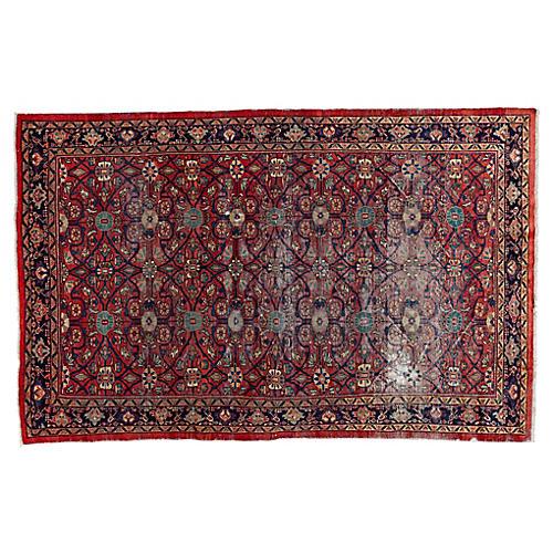 """Persian Mahal Rug, 6'8"""" x 10'6"""""""