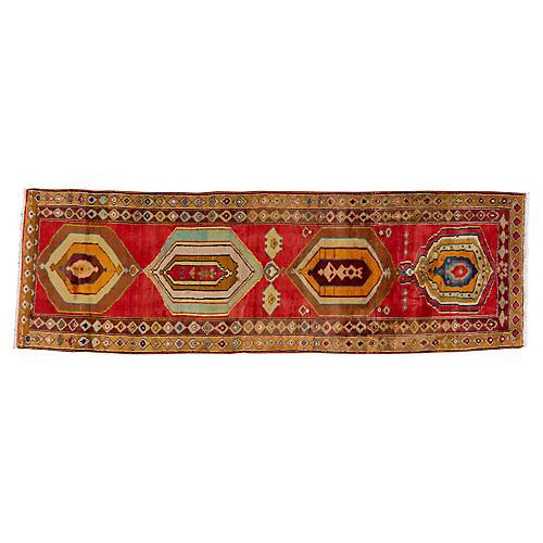 """Vintage N.W. Persian Rug, 3' x 9'5"""""""