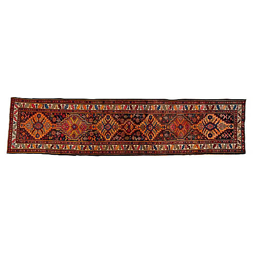 "Persian Heriz Runner, 3'3"" x 13'6"""