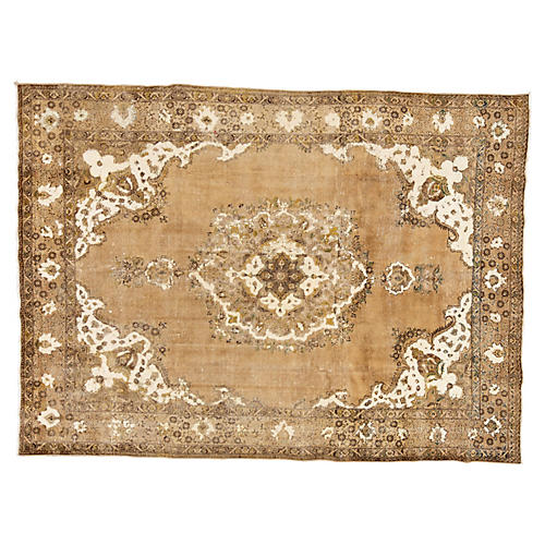 "Vintage Persian Rug, 9'6"" x 12'10"""