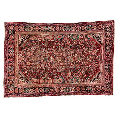 """Persian Mahal Rug, 6'10"""" x 10'3"""""""