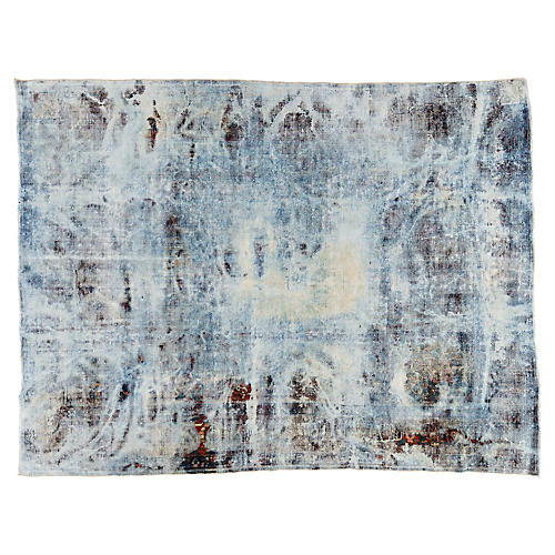 "Persian Overdyed Carpet, 9'3"" x 12'1"""