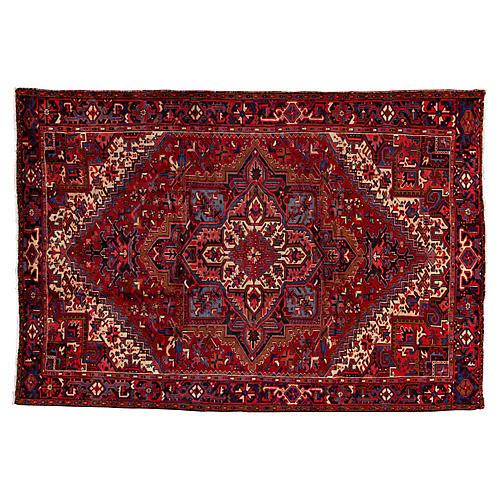 "Persian Heriz Rug, 8' x 11'8"""