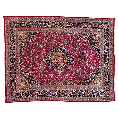 "Vintage Persian Rug, 9'8"" x 12'8"""