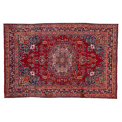 "Vintage Persian Rug, 6'4"" x 9'8"""