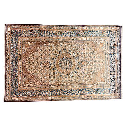 "Vintage Persian Rug, 6'9"" x 10'5"""