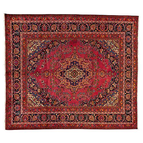 "Vintage Persian Rug, 10'0"" x 11'6"""