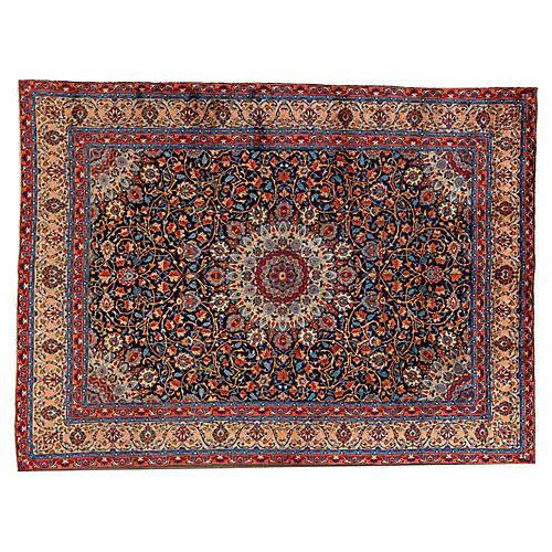 "Vintage Persian Rug, 8'1"" x 12'4"""