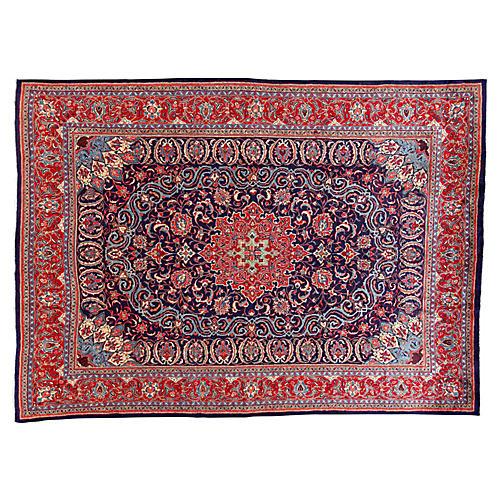 "Vintage Persian Rug, 9'8"" x 13'4"""