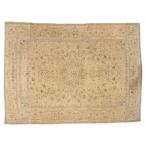 "Persian Tabriz Carpet, 9'4"" x 12'10"""