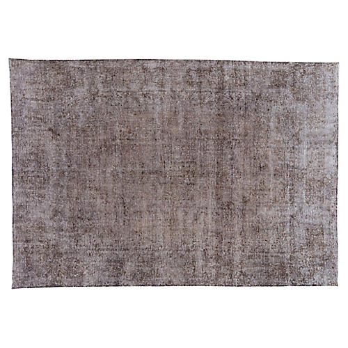 "Distressed Carpet, 9'7"" x 13'9"""