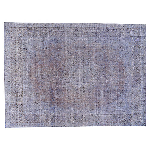 "Distressed Carpet, 9'8"" x 13'2"""