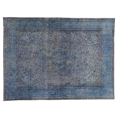 "Distressed Carpet, 9'7"" x 12'10"""