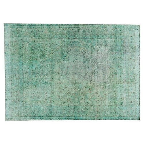 "Distressed Carpet, 9'9"" x 13'7"""