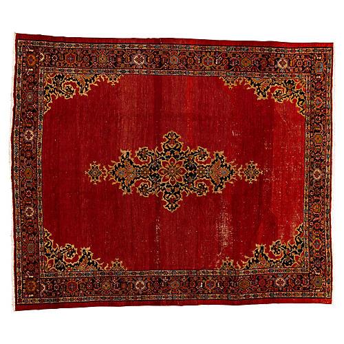 "Persian Mahal Carpet, 9'8"" x 11'6"""