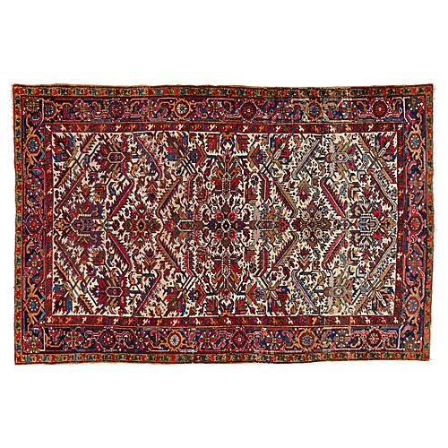 "Persian Heriz Rug, 6'8"" x 10'"