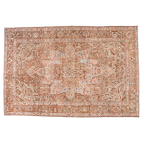 "Antique Bakhtiari Rug, 10'8"" x 16'1"""