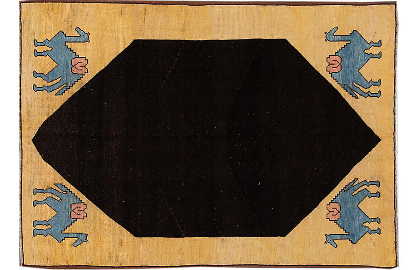 Mid-20th Century Vintage Turkish Rug