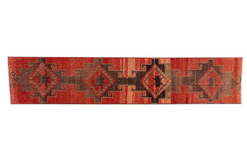 Vintage Anatolian Persian Wool Runner