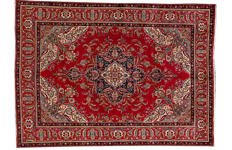 20th Century Vintage Tabriz, 7'10