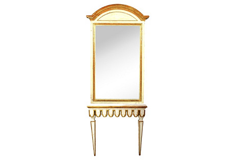 Pier Mirror w/ Wall Console