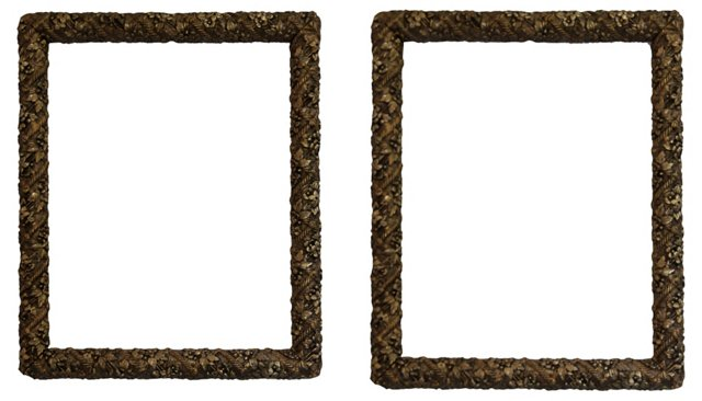 Early Victorian Frames, Pair