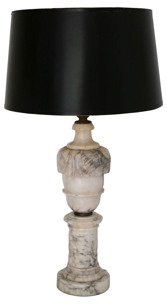 Italian Marble Lamp