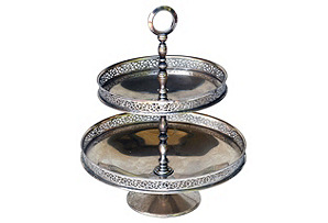 Silverplate Tiered Server