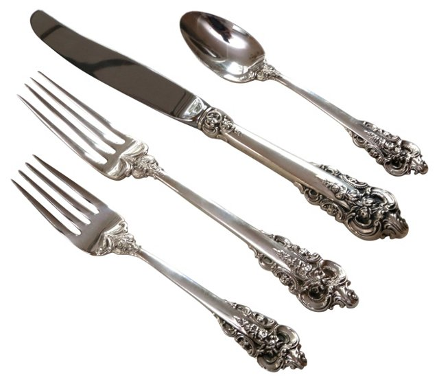 Grande Baroque Sterling Starter Set
