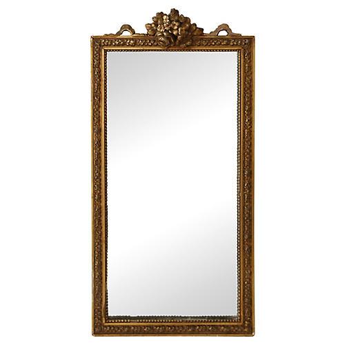 Petite French Vanity Mirror