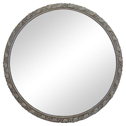 Deco Round Mirror