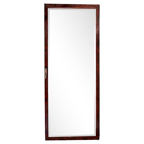French Beveled Mirror Door