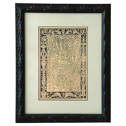 Custom Framed Gothic Print