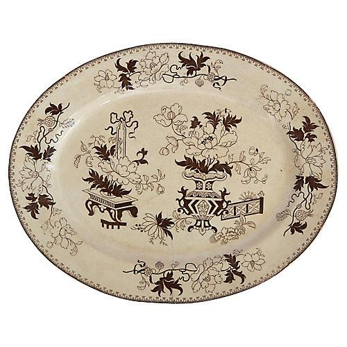 English Aesthetic Movement Platter