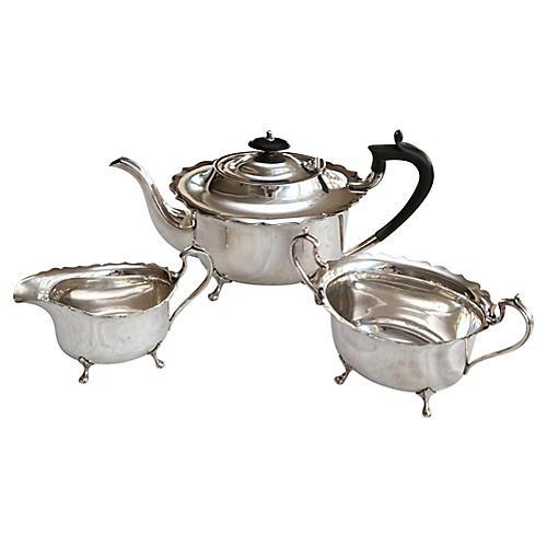English Tea Set, 3 Pcs